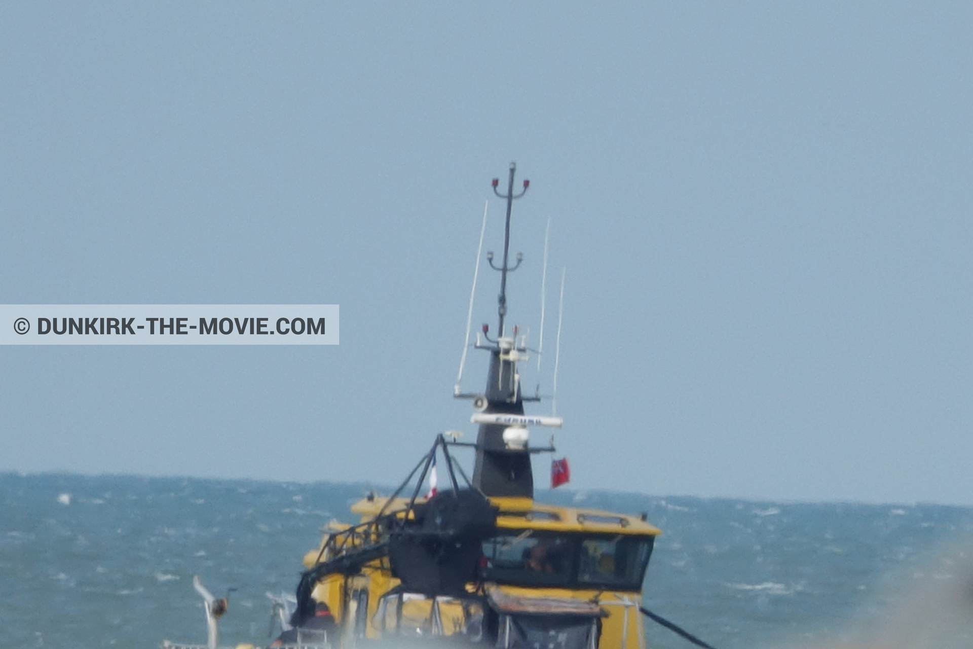 Picture with Ocean Wind 4,  from behind the scene of the Dunkirk movie by Nolan