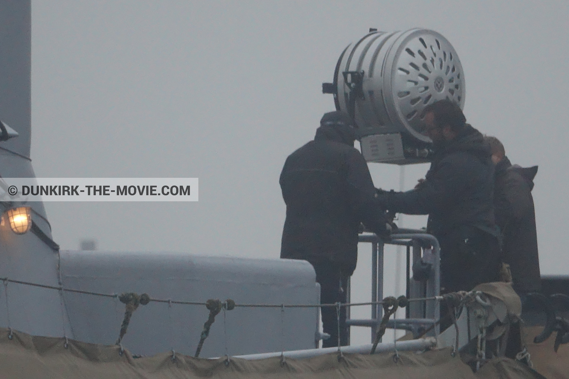 Photo on canvas number 542, of the filming of the film Dunkirk