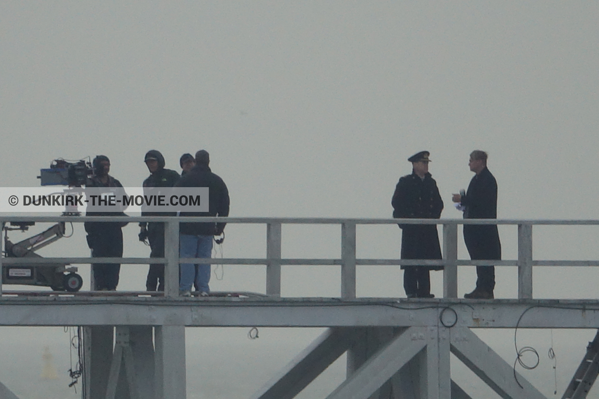 Photo on canvas number 236, of the filming of the film Dunkirk