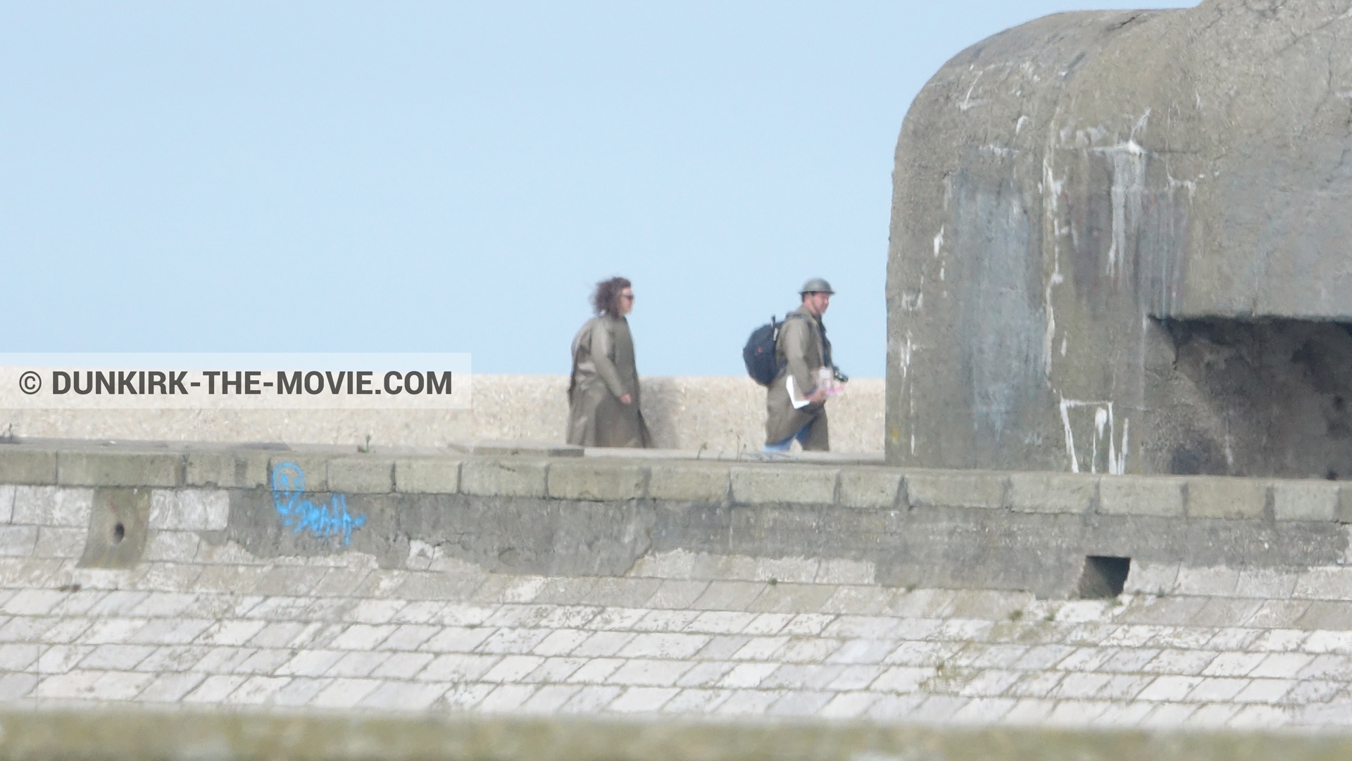 Photo on canvas number 1154, of the filming of the film Dunkirk