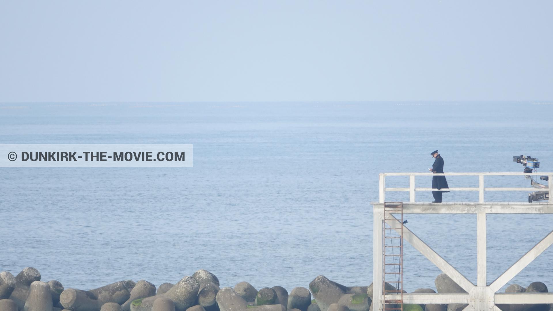 Foto del lienzo número 1582, del el rodaje de la película Dunkerque