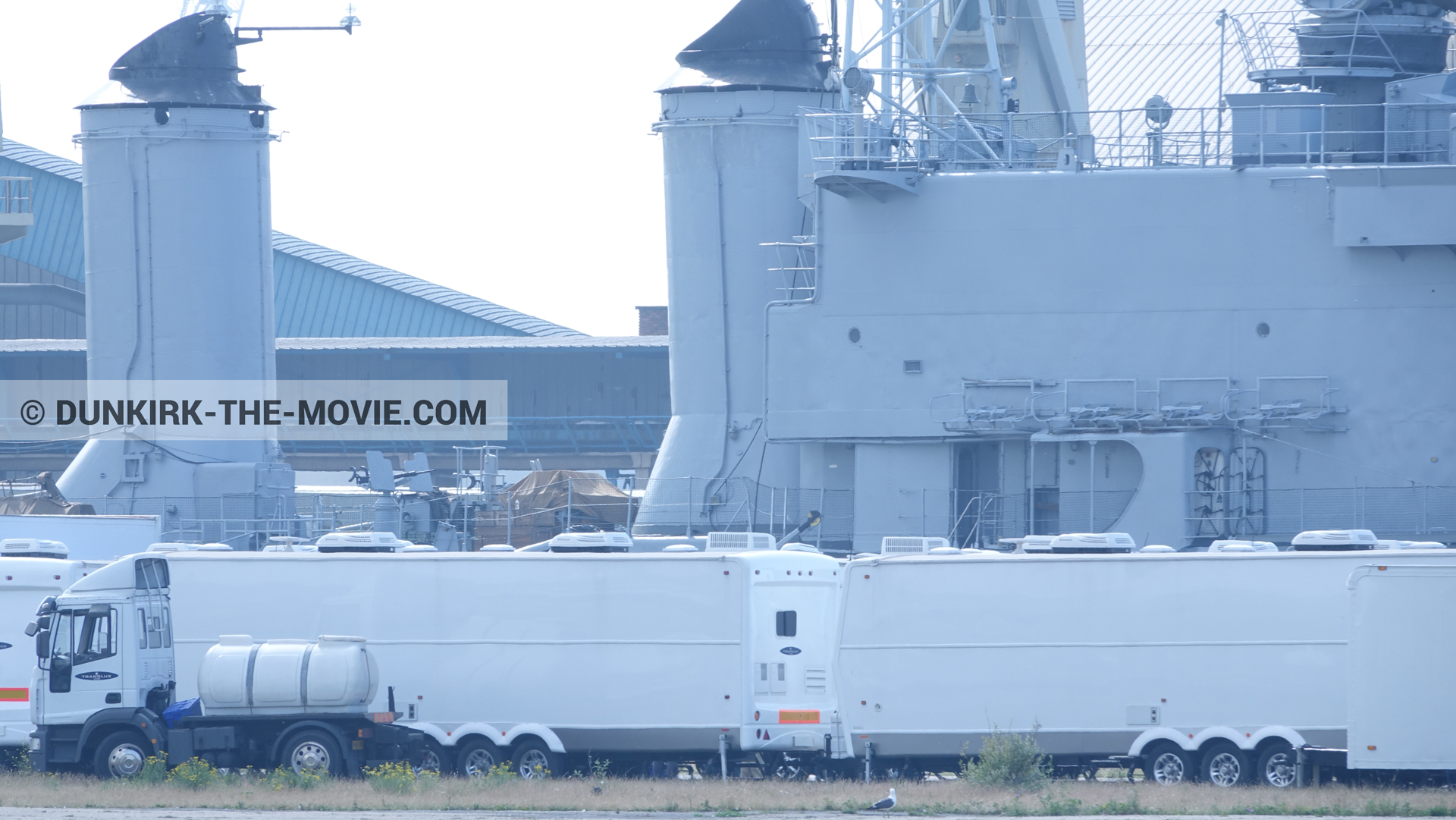 Picture with Maillé-Brézé - D36 - D54,  from behind the scene of the Dunkirk movie by Nolan