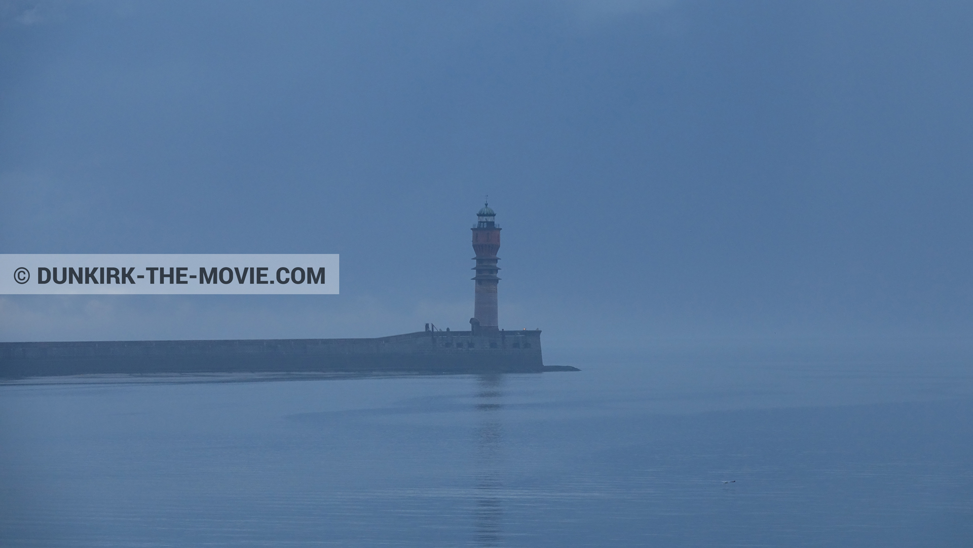Picture with St Pol sur Mer lighthouse,  from behind the scene of the Dunkirk movie by Nolan